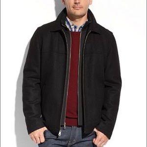 Tommy Hilfiger Wool zip up coat size XXL